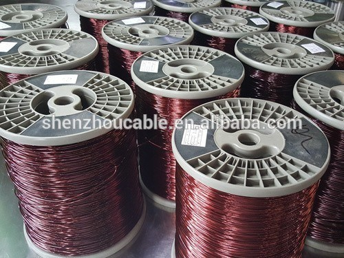 Sz Cable Factory Price Insulated Aluminum Round Winding Wire