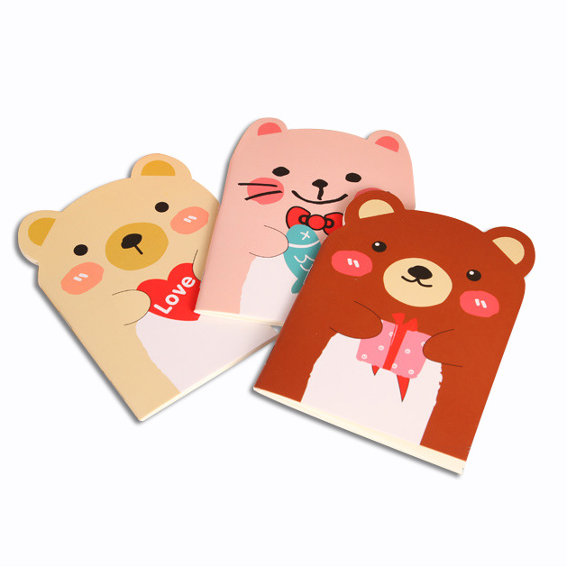 New Design Colorful Cartoon Customized Notebook Printing
