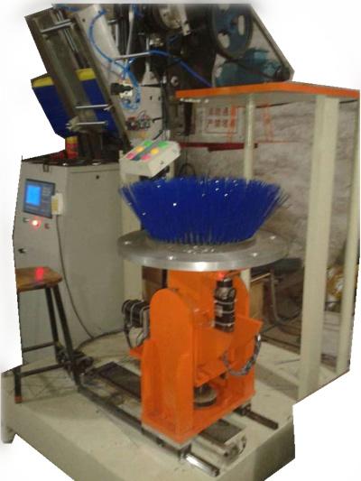 CNC 4 Axis Disc Brush Tufting Machine