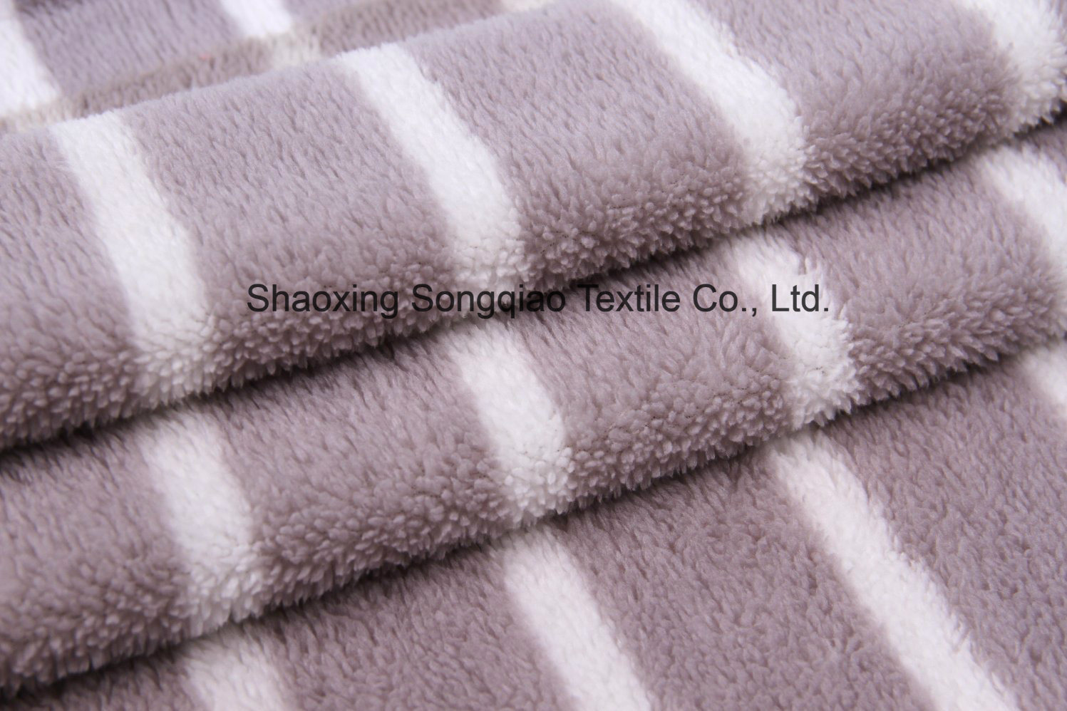 Printed Polyester Flannel/Coral Fleece Fabric - 14107-2 1#