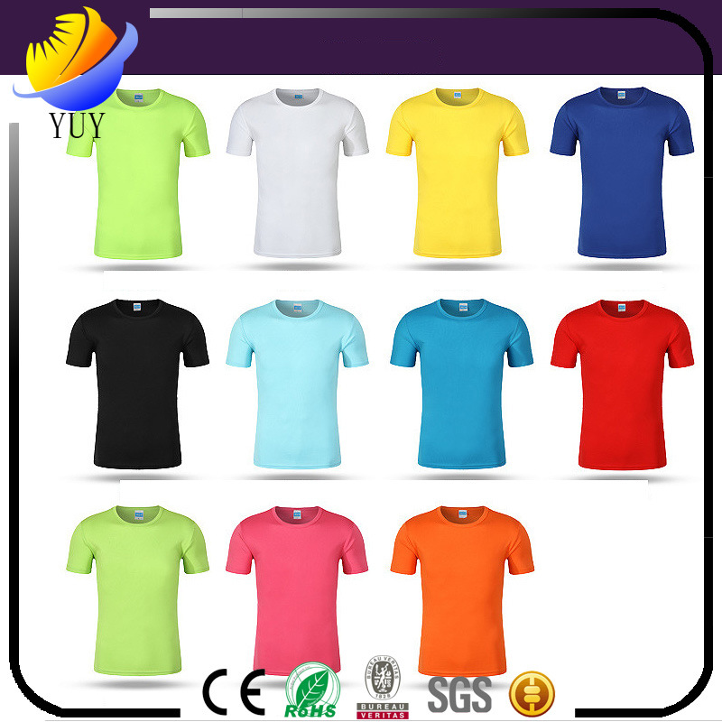 Custom Outdoor Short Sleeve Crew Neck Movement Fast -Dry T-Shirt