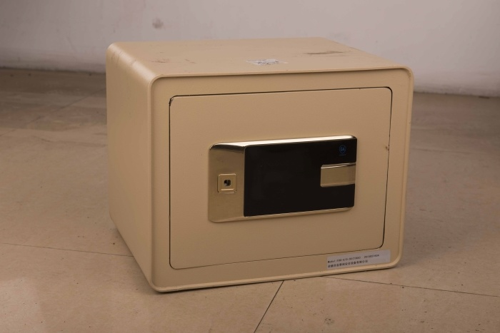 Laser Cutting 3c Electronic Safe Box for Home and Office Use (JBX-300AP)
