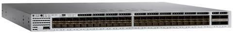 New Cisco 48 Port Poe Gigabit Ethernet Network Switch (WS-C3850-48F-S)
