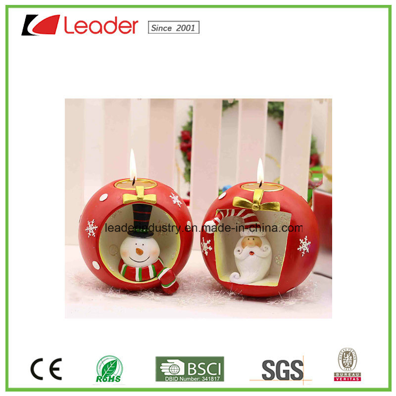 Hand-Painted Resin Girl Figurine with Lantern for Home and Christmas Decoration