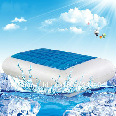 Wholesale Cooling Gel Pillow Ice Gel Memory Foam Pillow