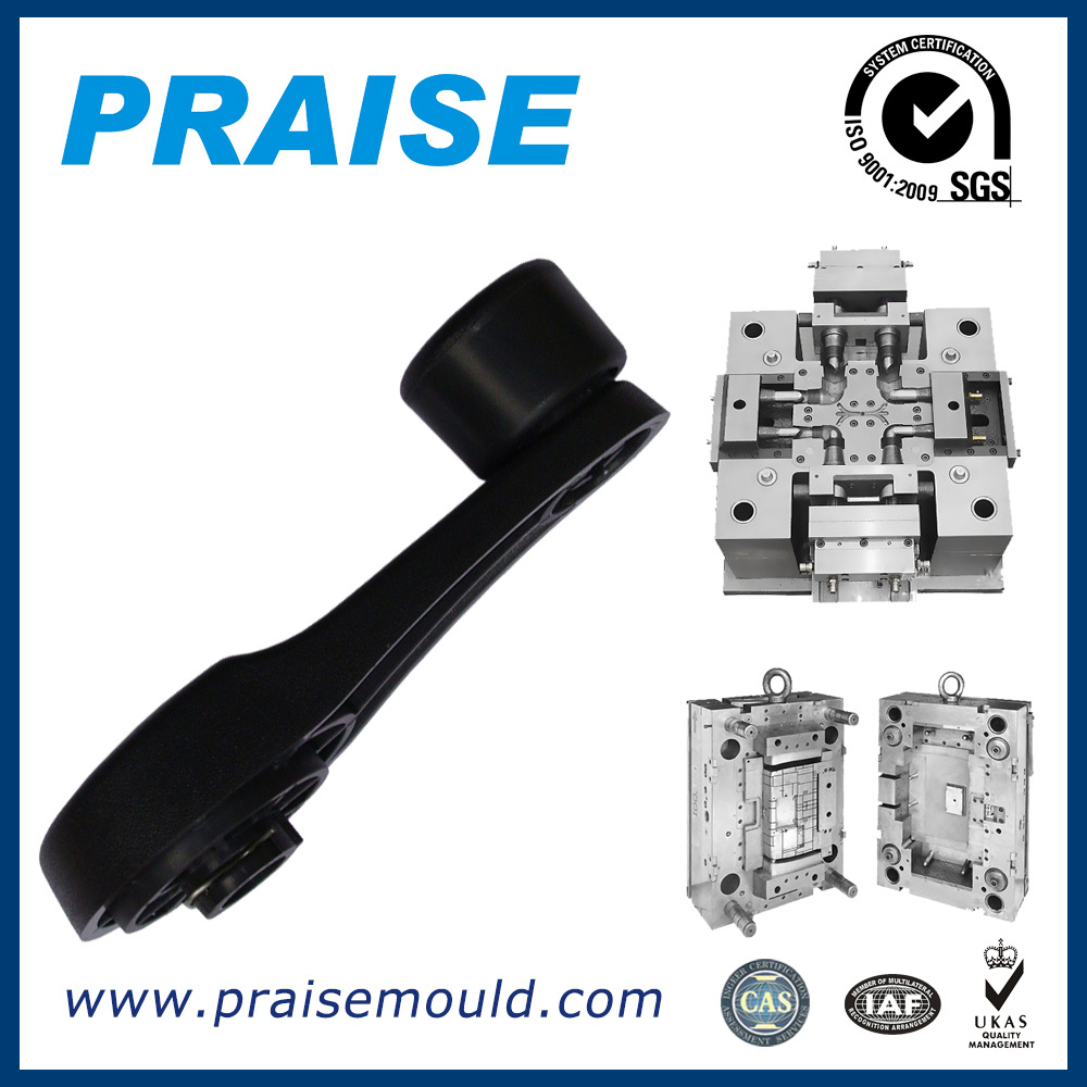 Window Handle Plastic Injection Molds Auto Parts