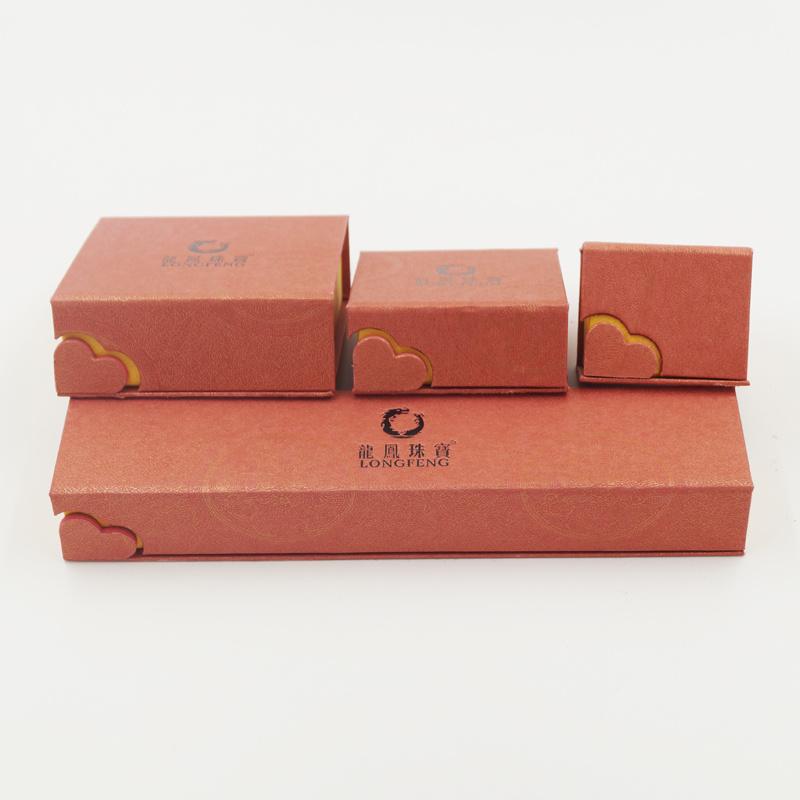 Flannelette Flocking Fancy Paper Gift Box for Jewelry (J63-E2)