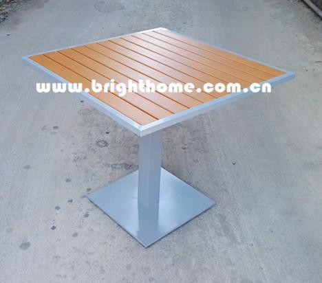 New Design Aluminium Dining Outdoor Table