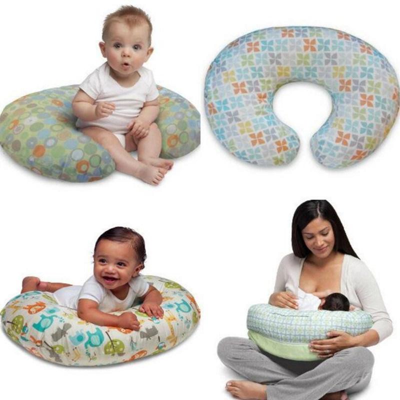 Newborn U-Shape Solid Polyester Waist Baby Pillow
