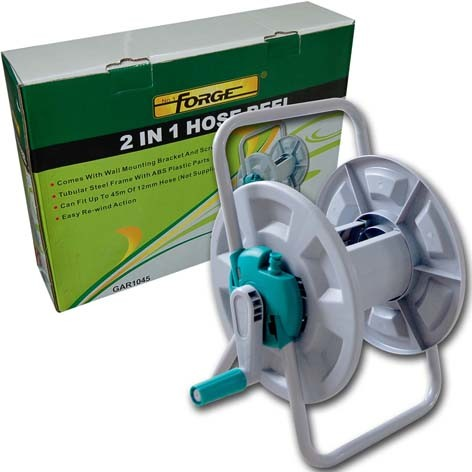 High Quality Dual Purpose 2 in 1 Garden Water Hose Reel Set