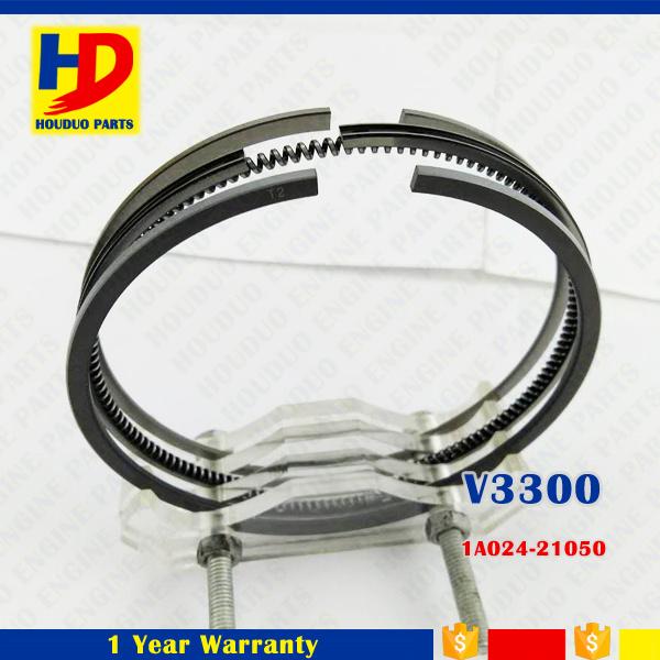 V3300 V3800 Diesel Engine Metal Piston Ring for Kubota (1C010-21050 1C010-21090 1A024-21050)