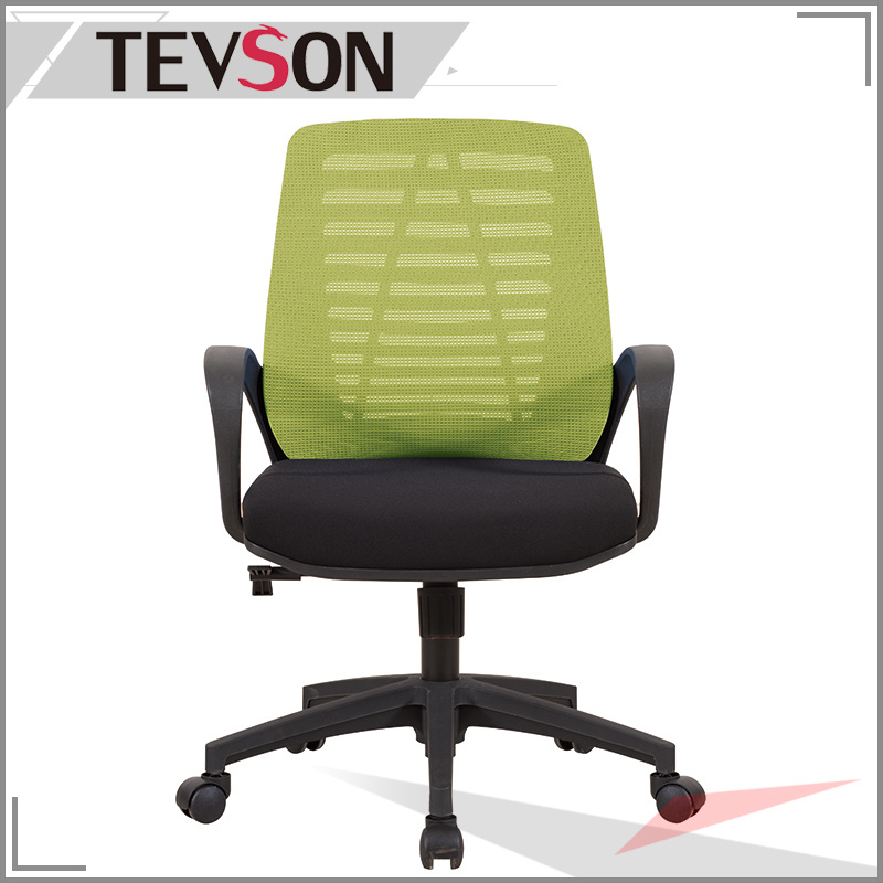 Fashion Office Swivel Chair with Mesh Back in Different Color