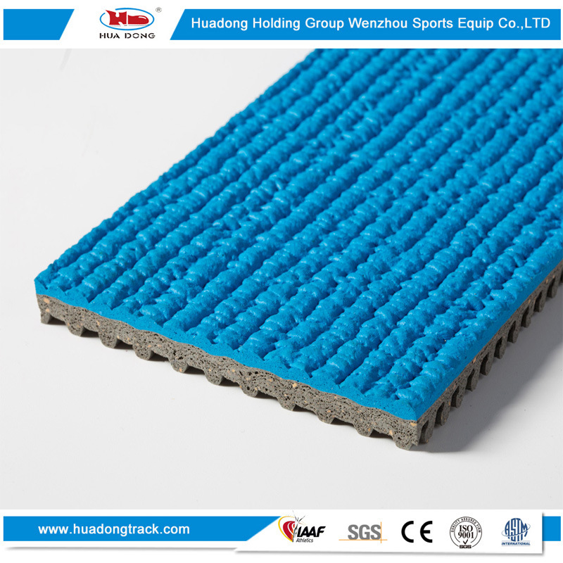 Sport Material Athletic Surface Outdoor Running Rubber Track
