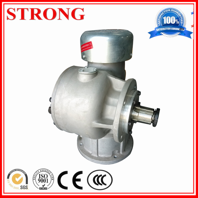 Concentric Spiral Gear Worm Speed Reducer in Construction Hoist Motor