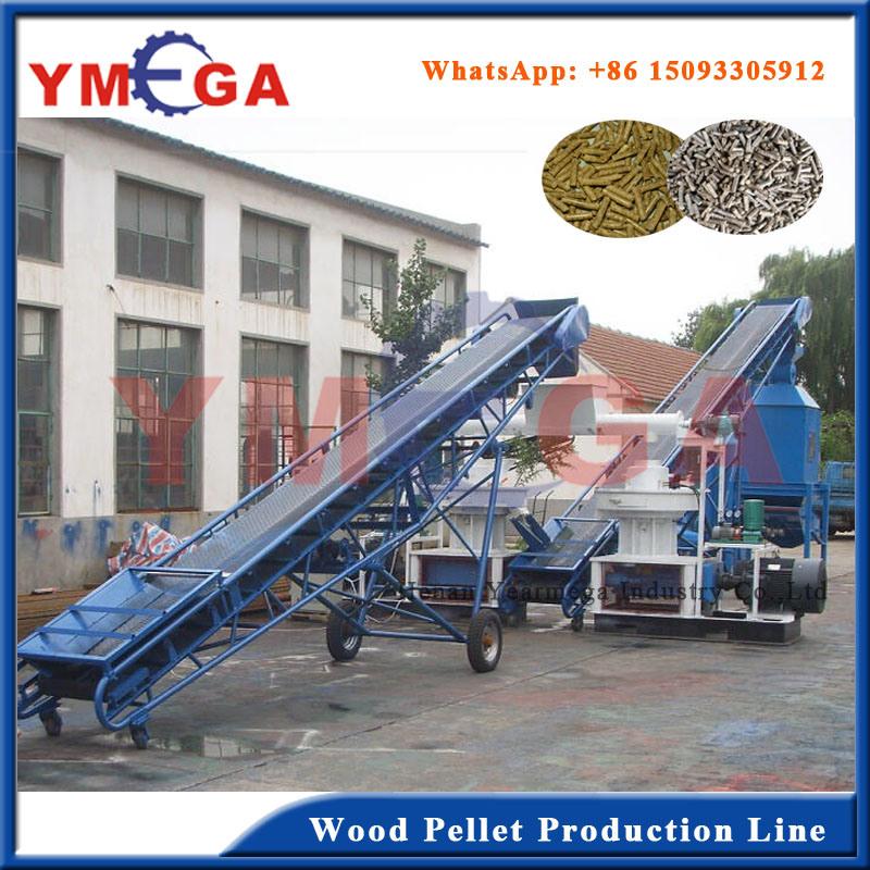 Turkey Project Biomass Fuel Wood Pellet Processing Line