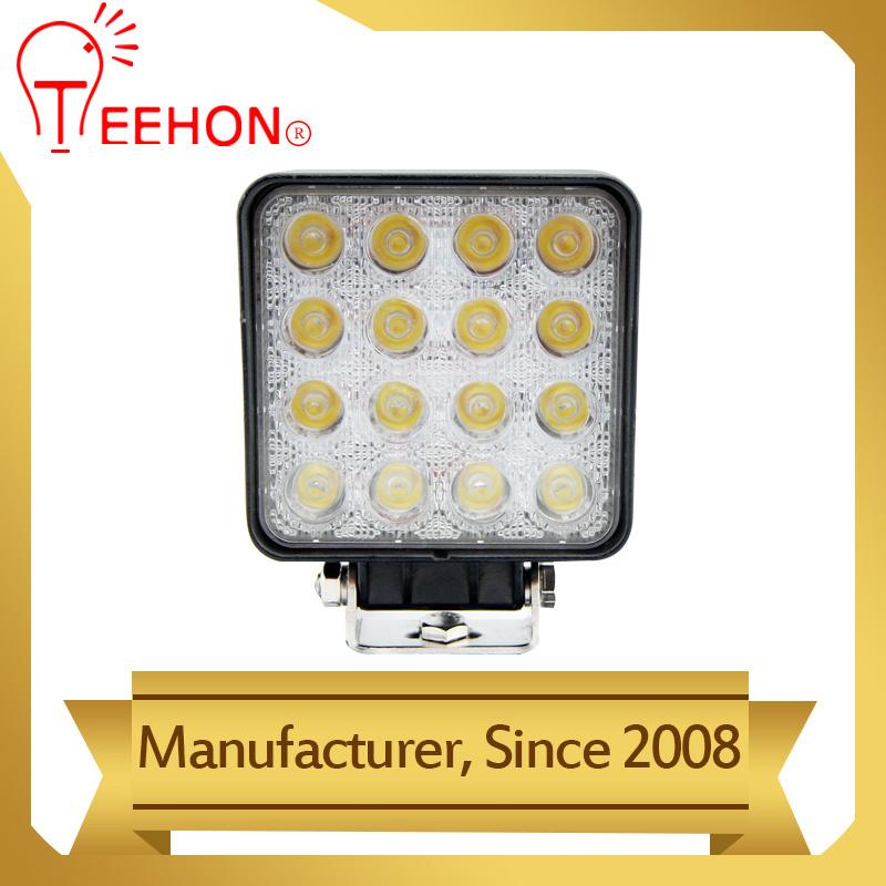 48W Wholesale LED Lighting for Automotive Truck LED Work Light