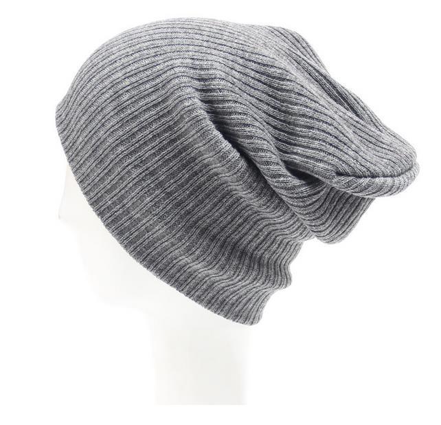 Ebay Hot Sale Plain Knitted Beanie Hat