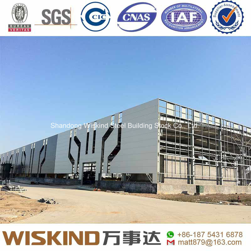 Pre-Engineered Steel Structure for Workshop/Warehouse in China