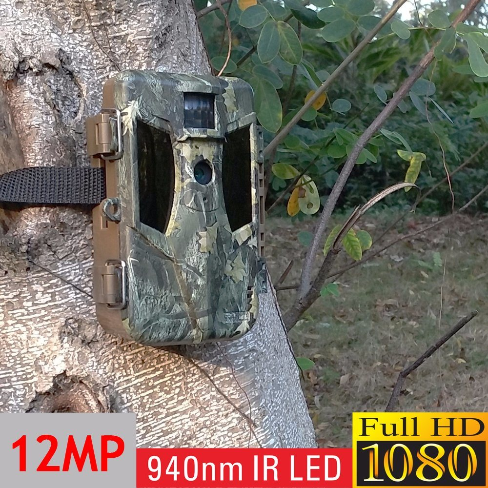 Ereagle 940nm Undetectable Scouting Trail Hunting Camera with 8PCS AA Battery