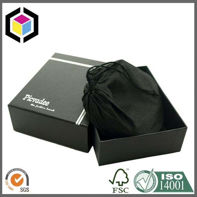 China Factory Magnet Close Paper Gift Pack Box with Foam Insert