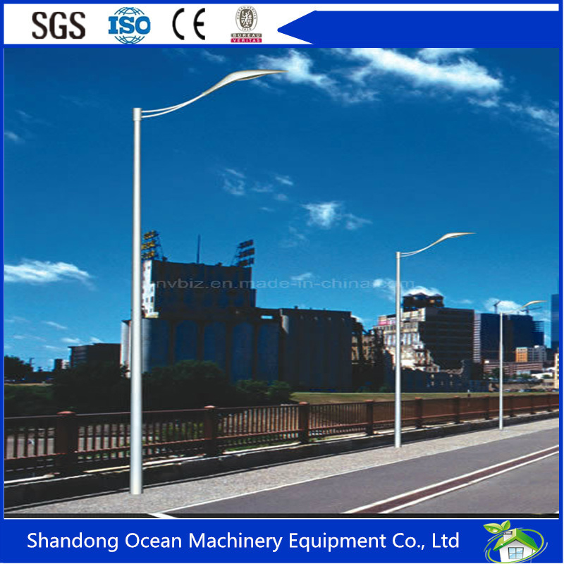 ISO9001 Certified Steel Lighting Poles Made of High Tensile Steel with Cheap Price and Good Quality