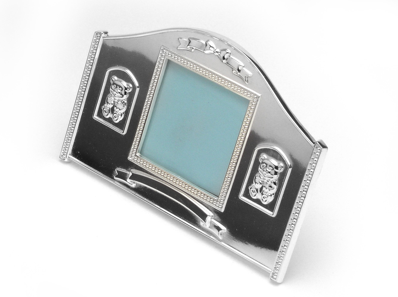 Baby′s Photo Frame with Silver Plated