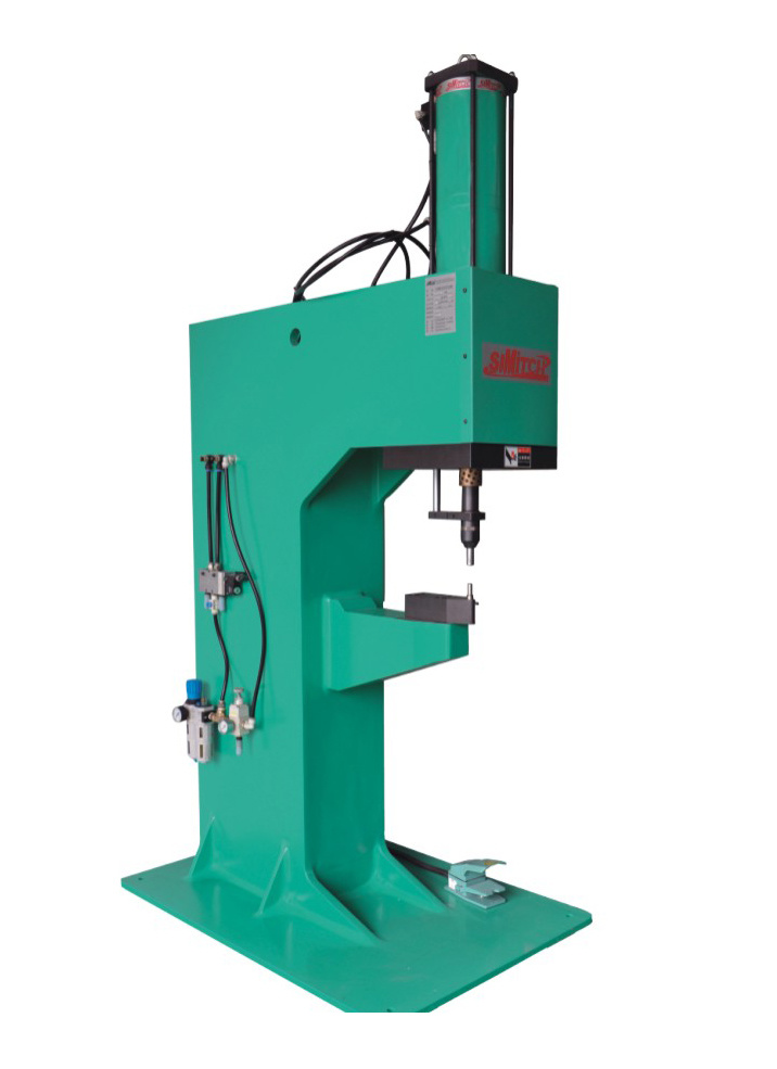 Pneumatic- Hydraulic Clinching Machine with C-Frame