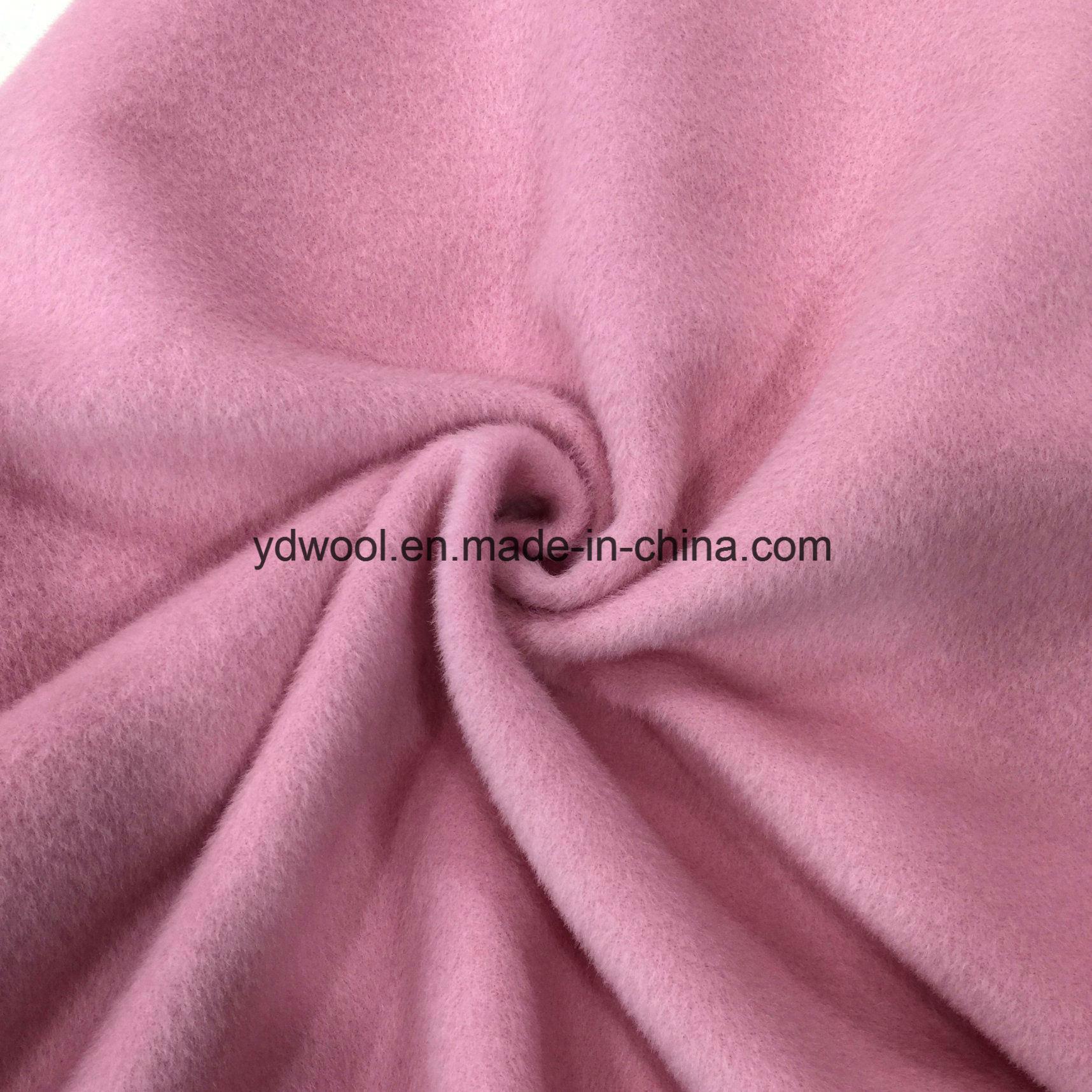 Alpaca Style Woolen Fleece Wool Fabric