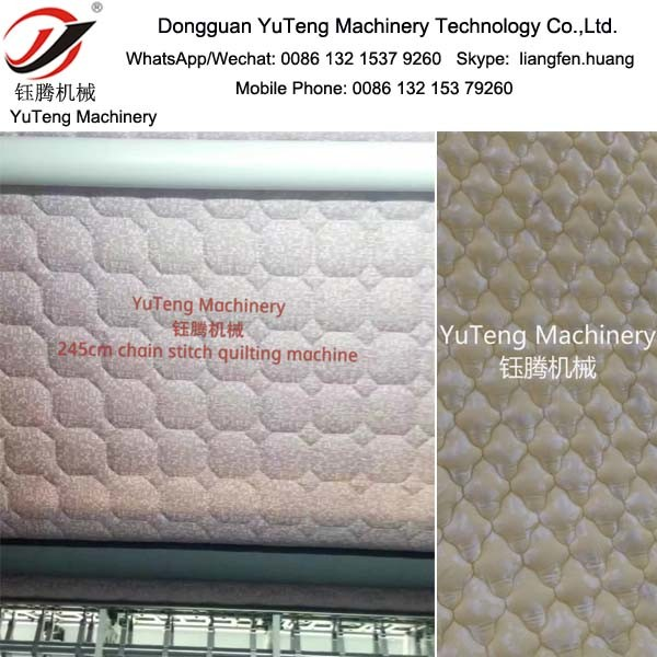 Mattress Computerized China Stitch Multi Needles Quilting Machine Yt-3200b