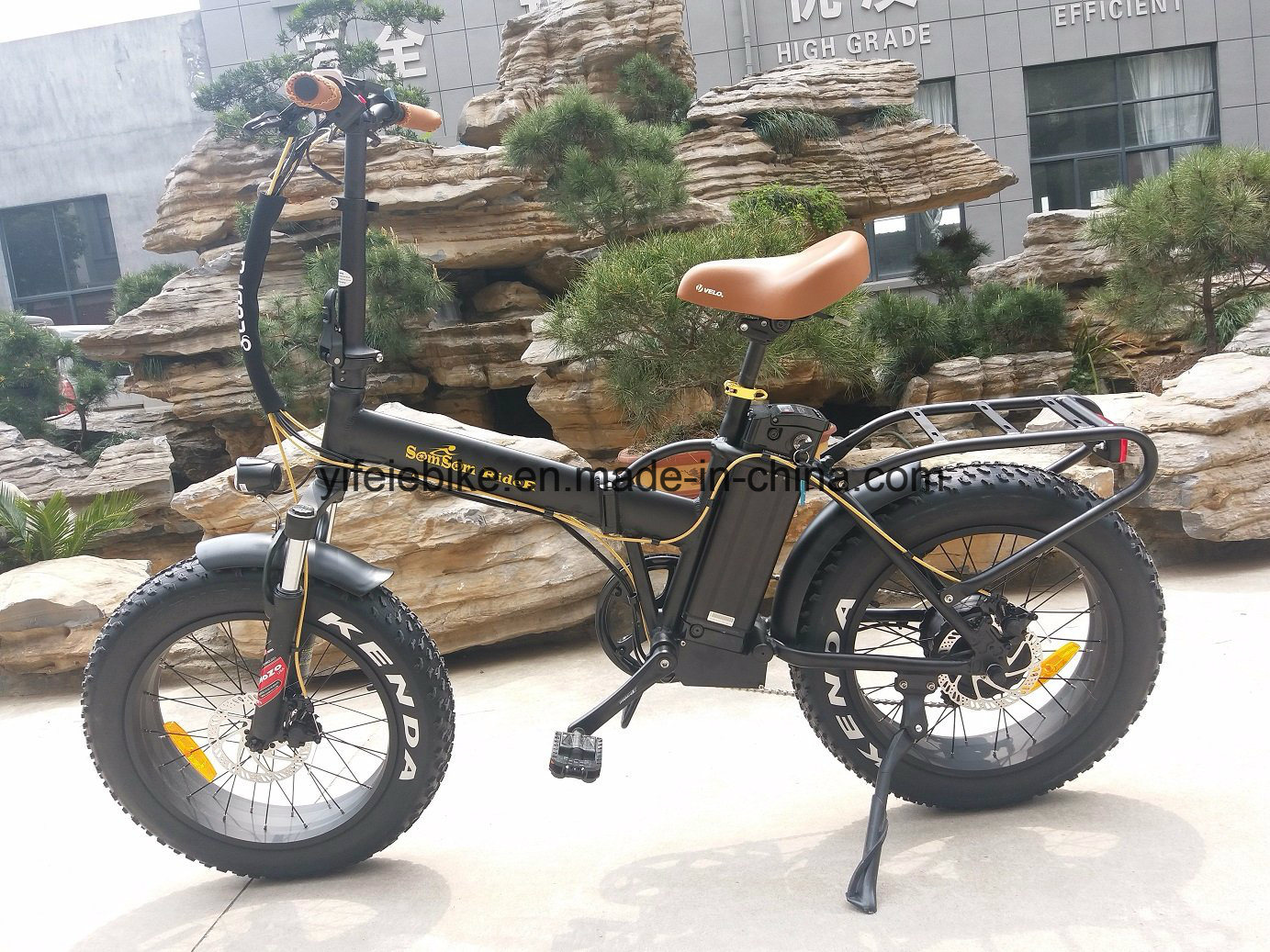 Big Tire High Speed 20′inch Folding Electric Bicycle