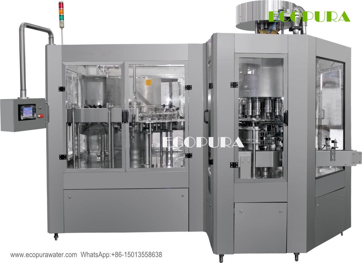 Complete Hot Juice Filling Machine / Bottling Line