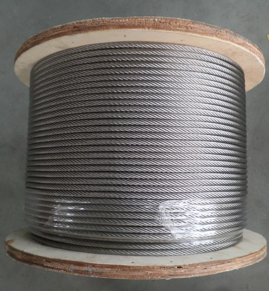 Galvanized Aircraft 6X19 7/32 Inch Size Steel Wire Rope