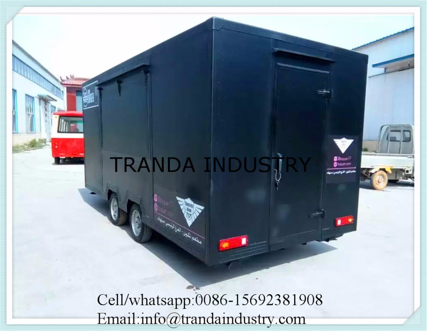Hot Sale Large Mobile Food Trailer