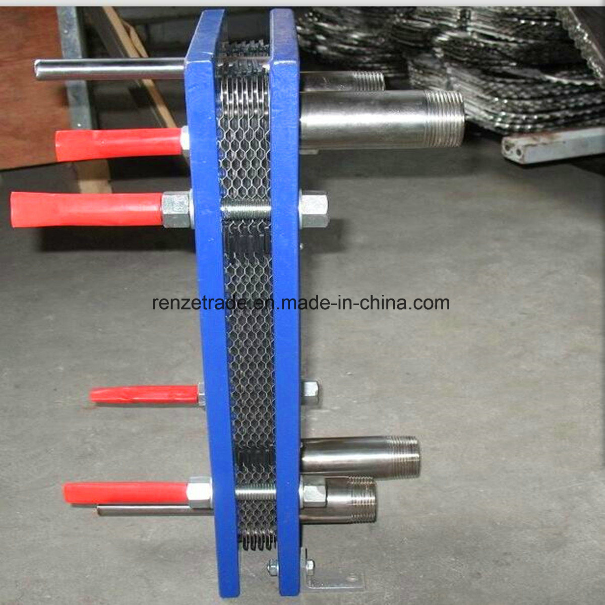 Steel Industry, Paper Making Industry Gasketed Plate Type Heat Exchanger for Water Cooling
