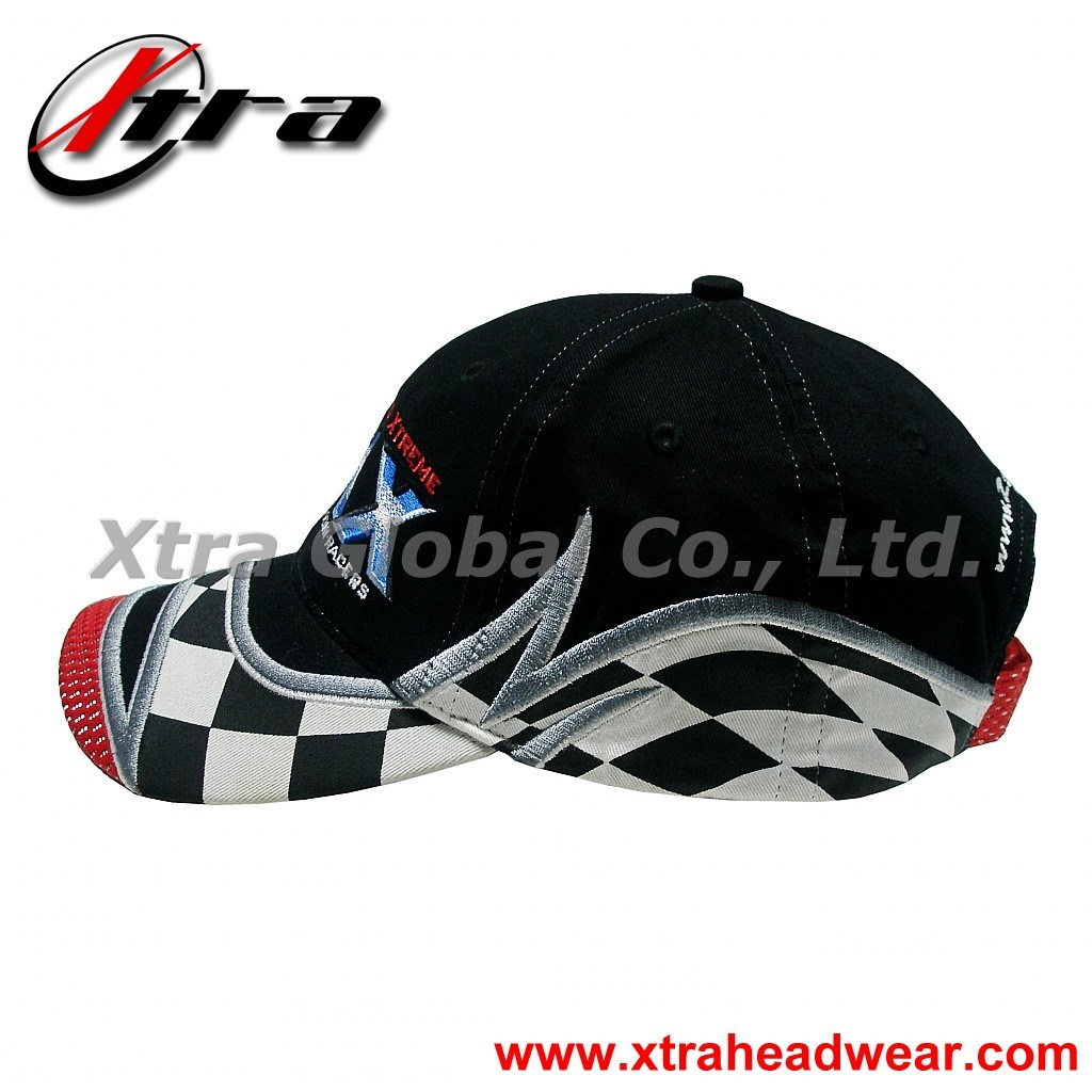 Racing Embroidery Baseball Cap (XT-R002)