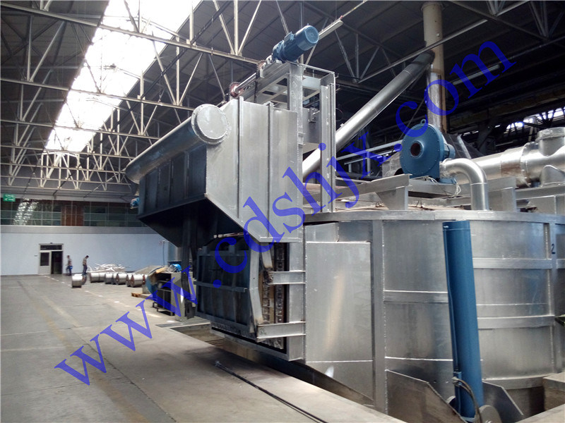 Continuous Casting and Rolling Machine for Aluminum Rod Furnace