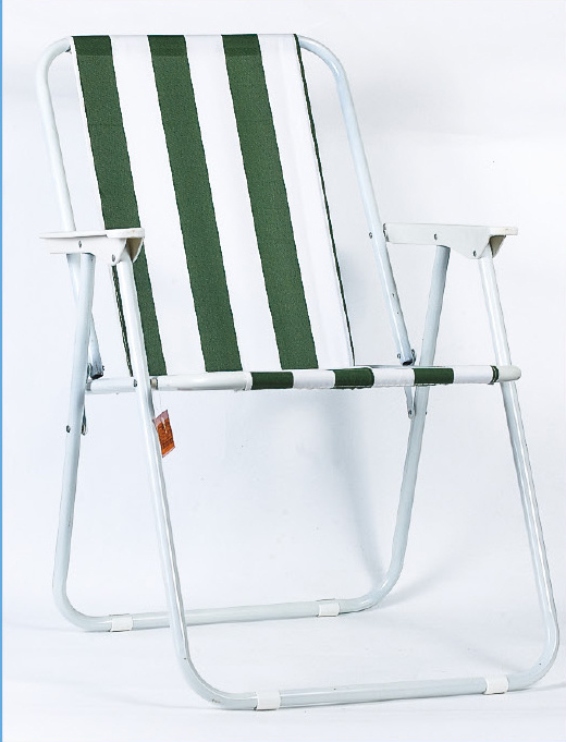 Foldable Polyester Adult Beach Stool Chair