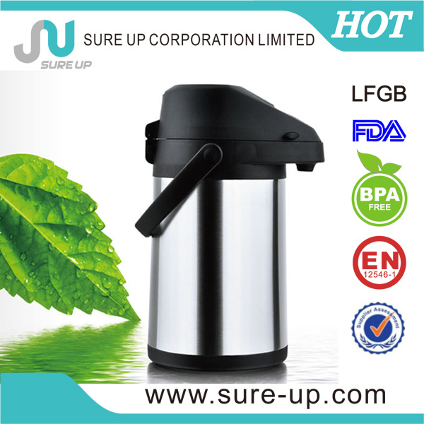Double Wall Stainless Steel Insulated Airpot Vacuum Flask (ASUJ)