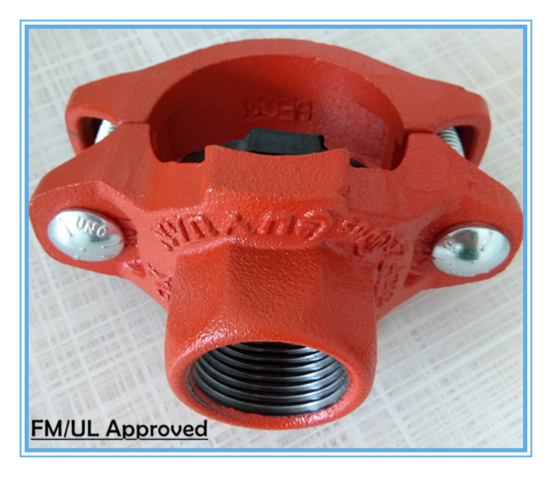 Grooved Coupling and Fittings for Fire Sprinkler System with FM UL/ULC