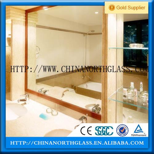 Hot Sale 1.8-6mm Silver / Aluminum Mirror Glass