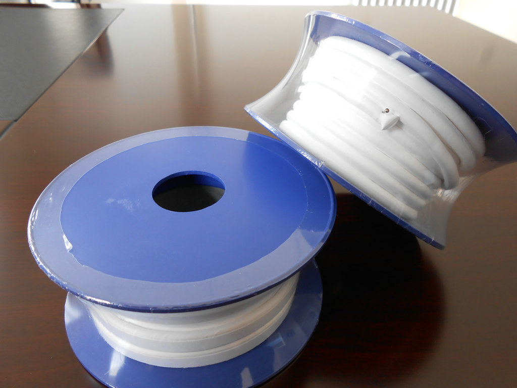 PTFE Expand Gasket Tape, Teflon Expand Gasket Tape White Color and Backing Adhesive