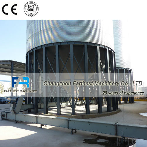 Corrugated Galvanized Steel Corn Storage Silos