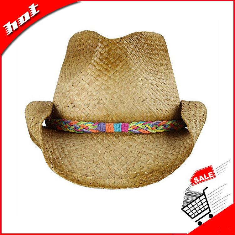 Cowboy Hat, Raffia Hat, 2017 Fashion Straw Hat