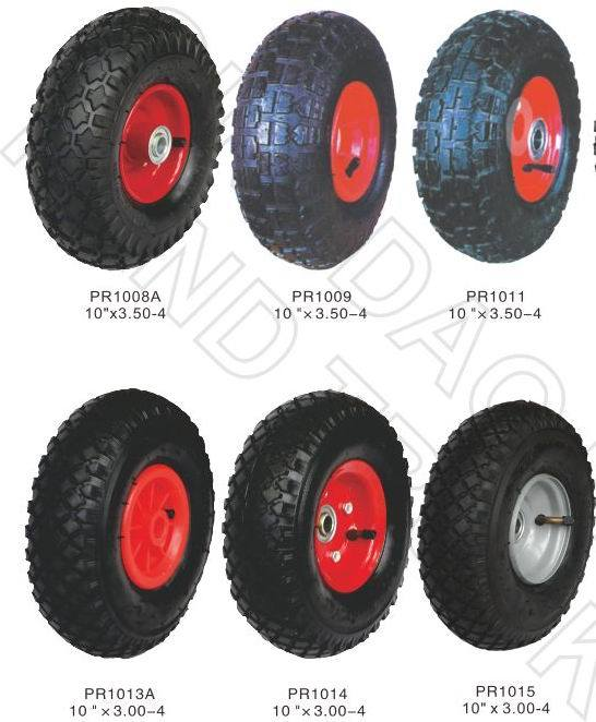 Rubber Wheel, Foam Wheel, Solid Wheel, From 1′′- Full Range with Cheap Price