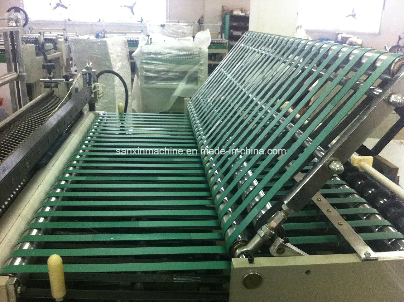 , PE Hot Cutting Machine, OPP Side Sealing Bag Machines