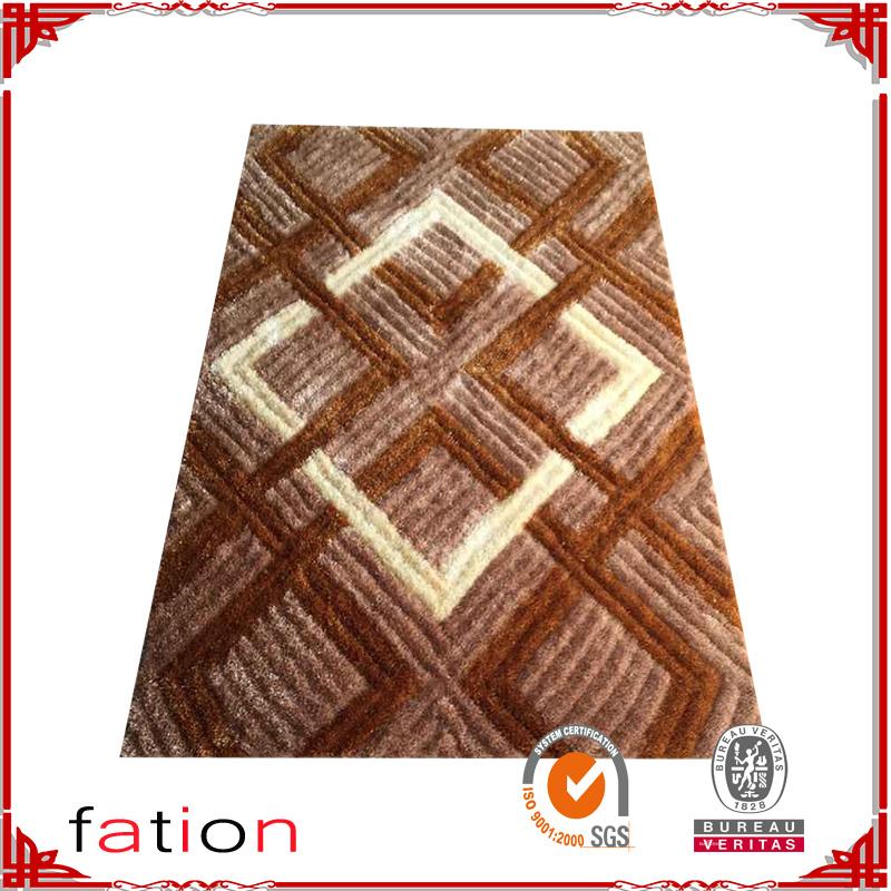 100% Polyester Shaggy Carpet Soft Shaggy Rug