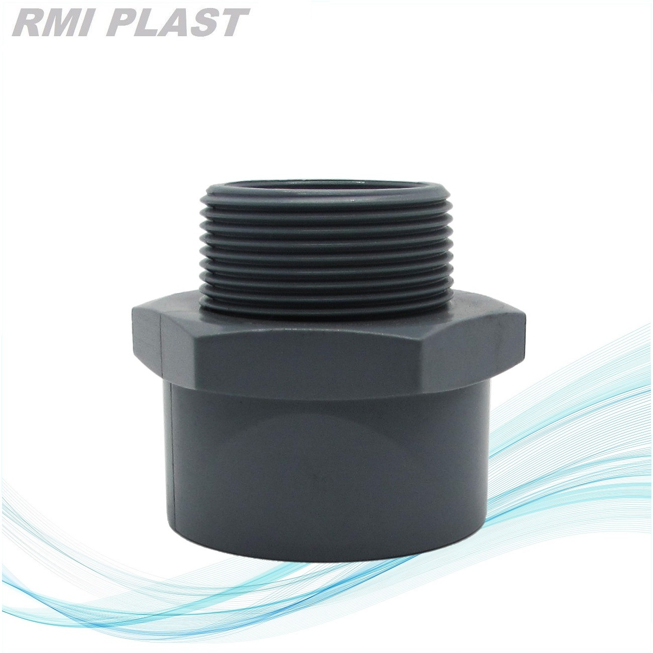 Plastic Pipe Fitting Pn10 Pn16 CPVC Flange by Socket