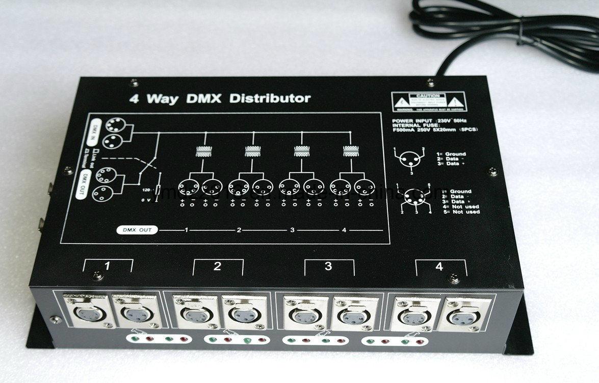 DMX-512 Signal Splitter or distributor or Amplifier