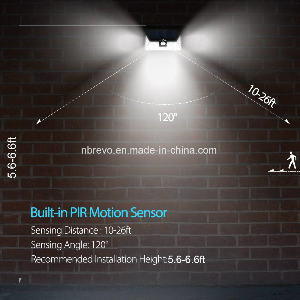 24 LED Waterproof Solar PIR Motion Sensor Garden Light (RS2029)