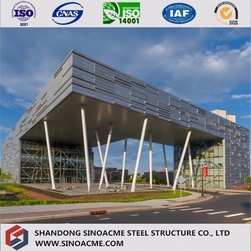 Heavy Steel Structure Commercial Building for Working Office